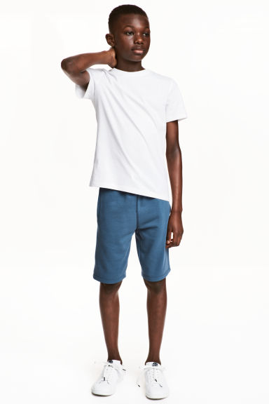 Sweatshirt shorts - Blue - Kids | H&M 1