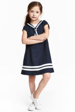 Sailor dress - Dark blue - Kids | H&M 1