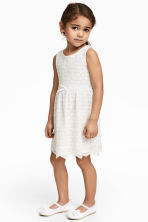 Lace dress - White - Kids | H&M 1