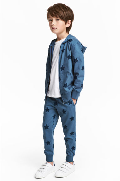 Joggers - Blauw/sterren -  | H&M BE 1