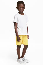 Sweatshirt shorts - Yellow - Kids | H&M CN 1