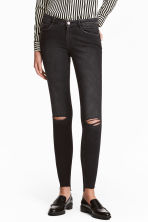 Super Skinny Ankle Jeans - Donkergrijs washed out - DAMES | H&M BE 2