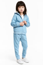 Sweatpants - Blue/Glittery - Kids | H&M 1