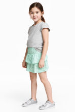 Gonna in jersey - Verde menta/farfalle - BAMBINO | H&M IT 1