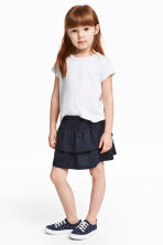 Jersey skirt - Dark blue - Kids | H&M 1