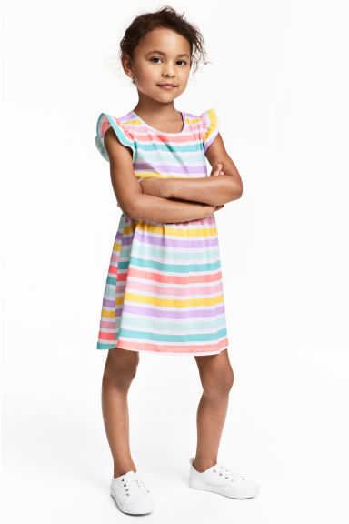 Jersey dress - Multistriped - Kids | H&M