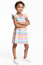 Jersey dress - Multistriped - Kids | H&M CN 1