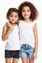 2-pack tops - White - Kids | H&M 1