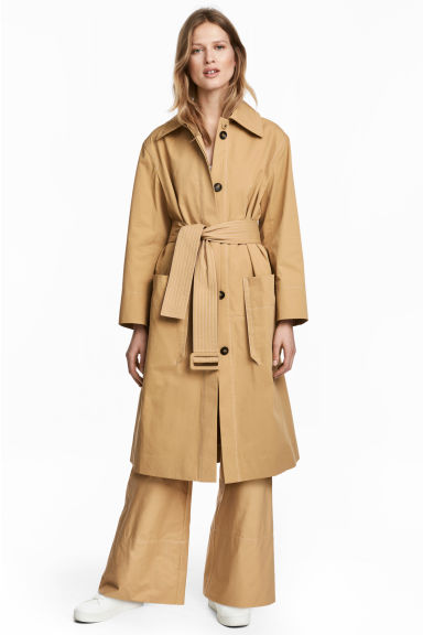 Trenchcoat - Beige -  | H&M GB 1