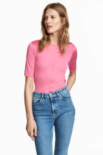 Top in seta - Rosa - DONNA | H&M IT 1