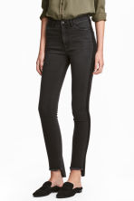 Slim High Ankle Jeans - Black denim - Ladies | H&M 1