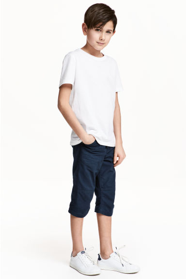過膝短褲 - Dark blue - Kids | H&M