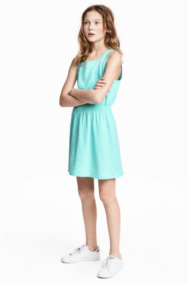Jersey dress - Turquoise - Kids | H&M IE 1