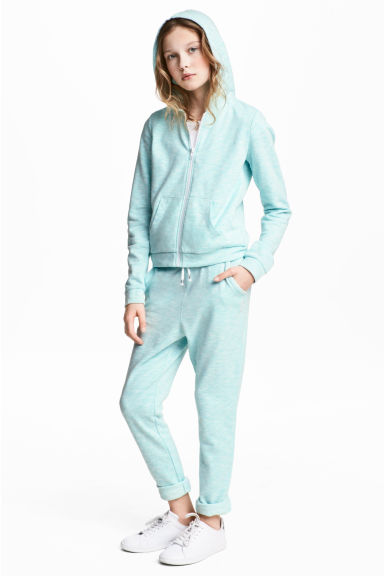 Joggers - Turchese chiaro mélange -  | H&M IT 1