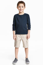 Cargo shorts - Light mole - Kids | H&M 1