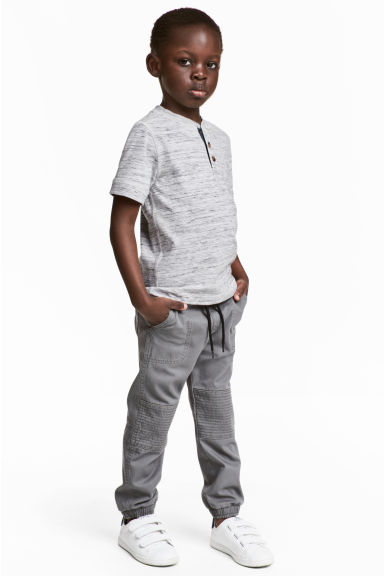 Pull-on trousers - Dark grey - Kids | H&M 1