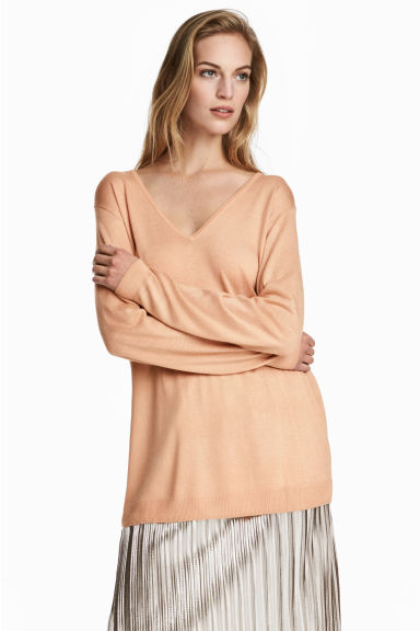 Lyocell blend jumper Model