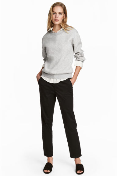 Chinos - Black - Ladies | H&M GB