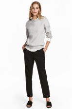 Chinos - Black - Ladies | H&M 1