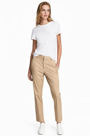 Chinos - Beige - Ladies | H&M GB 1