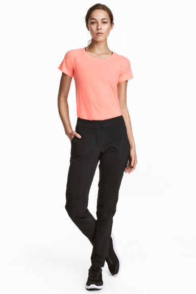 Outdoor trousers - Black - Ladies | H&M