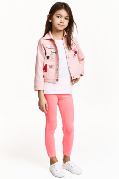 Treggings - Coral pink - Kids | H&M 1