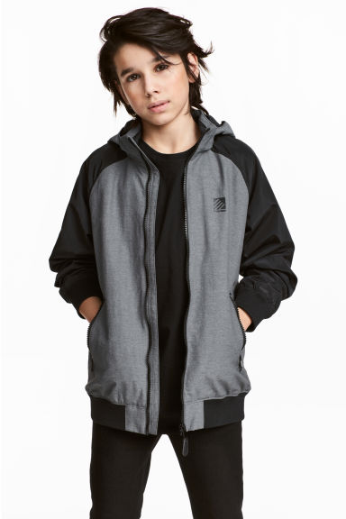 Outdoor jacket - Grey marl - Kids | H&M CN 1
