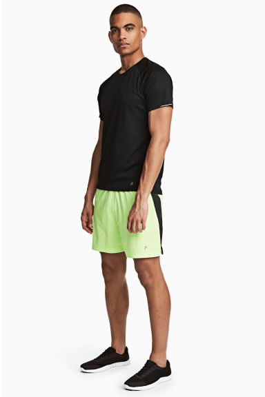 Shorts da running - Giallo neon - UOMO | H&M IT