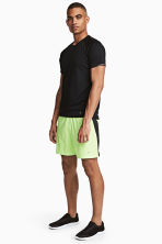 Running shorts - Neon yellow - Men | H&M 1