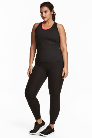 H&M+ Shaping tights High waist Model