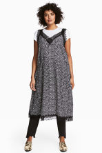 H&M+ Patterned dress - Black/Floral - Ladies | H&M CN 1