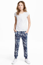 Harem pants - Dark blue/White - Kids | H&M 1