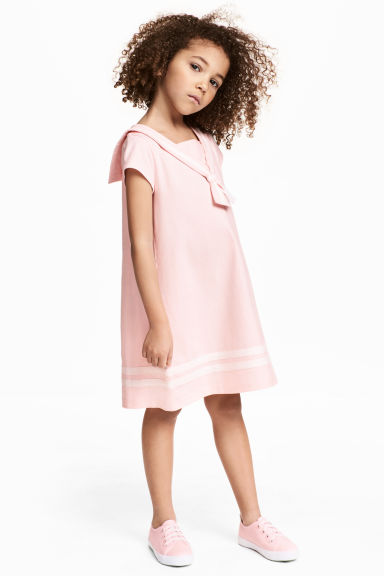 Sailor dress - Light pink - Kids | H&M 1