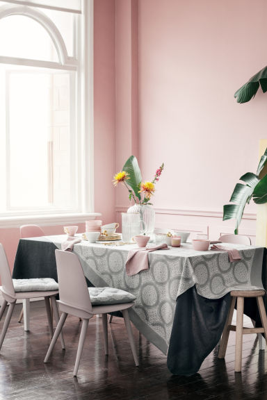 Tasse en porcelaine - Rose ancien - HOME | H&M BE