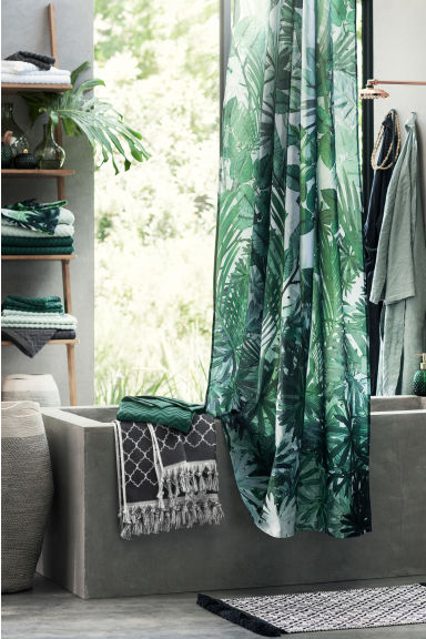 Asciugamani ospite, 2 pz - Verde scuro - HOME | H&M IT 1
