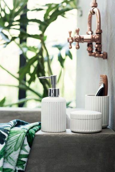 Boîte en porcelaine - Blanc - Home All | H&M FR 1