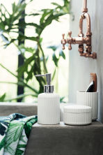 Porcelain soap dispenser - White - Home All | H&M CN 1
