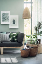 Grande vaso in vetro - Verde scuro - HOME | H&M IT 1
