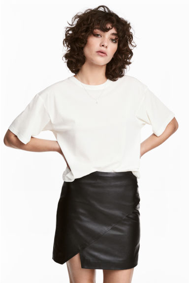 Pima cotton top - White - Ladies | H&M 1