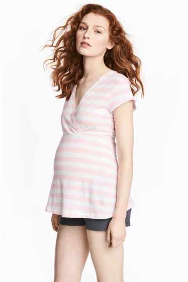 MAMA Jersey pyjamas - Light pink - Ladies | H&M 1