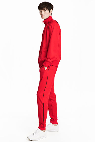 Joggers - Red - Men | H&M 1