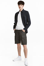 Cargo shorts - Dark grey - Men | H&M 1