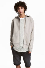 Hooded jacket - Beige - Men | H&M 1