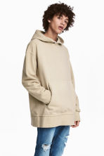 Hooded top - Beige - Men | H&M 1
