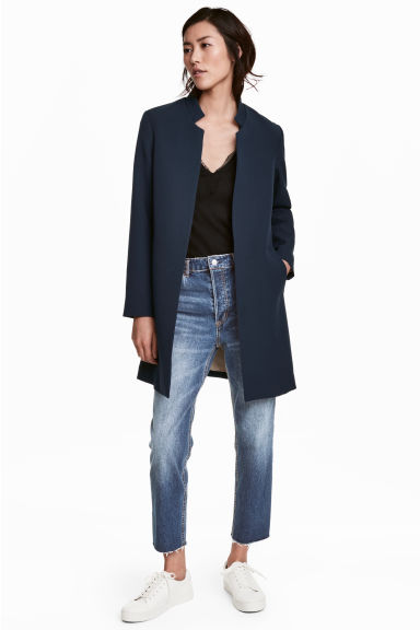 Short coat - Dark blue - Ladies | H&M 1