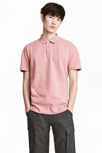 Polo shirt - Pale pink - Men | H&M 1