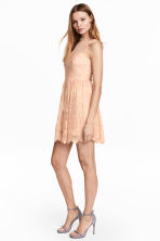 Lace dress - Powder - Ladies | H&M 1