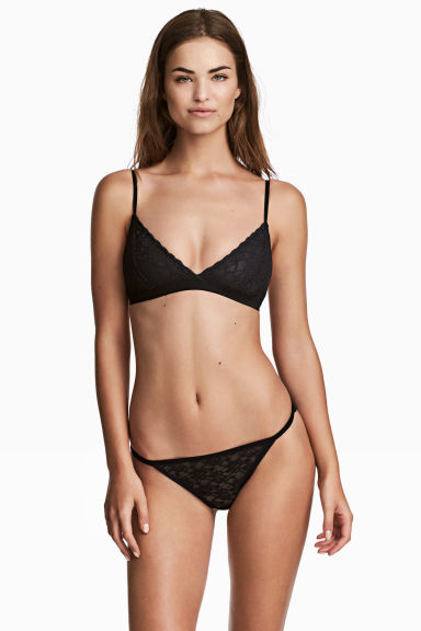 3-pack bikini briefs - Black - Ladies | H&M