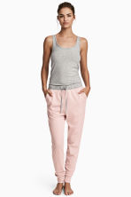 Jersey pyjama bottoms - Pink marl - Ladies | H&M CN 1