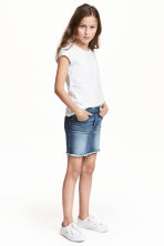 Denim skirt - Denim blue - Kids | H&M CN 1